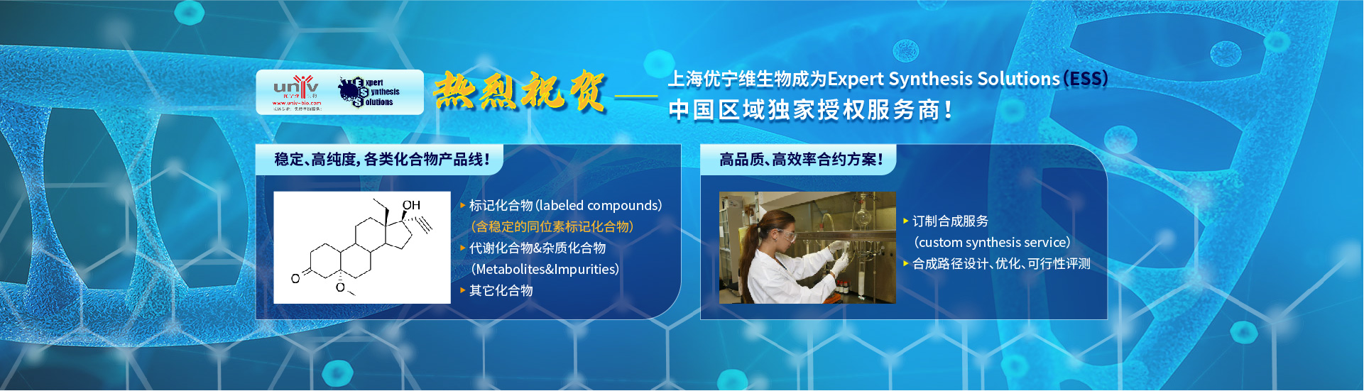 Expert Synthesis Solutions 授权服务商
