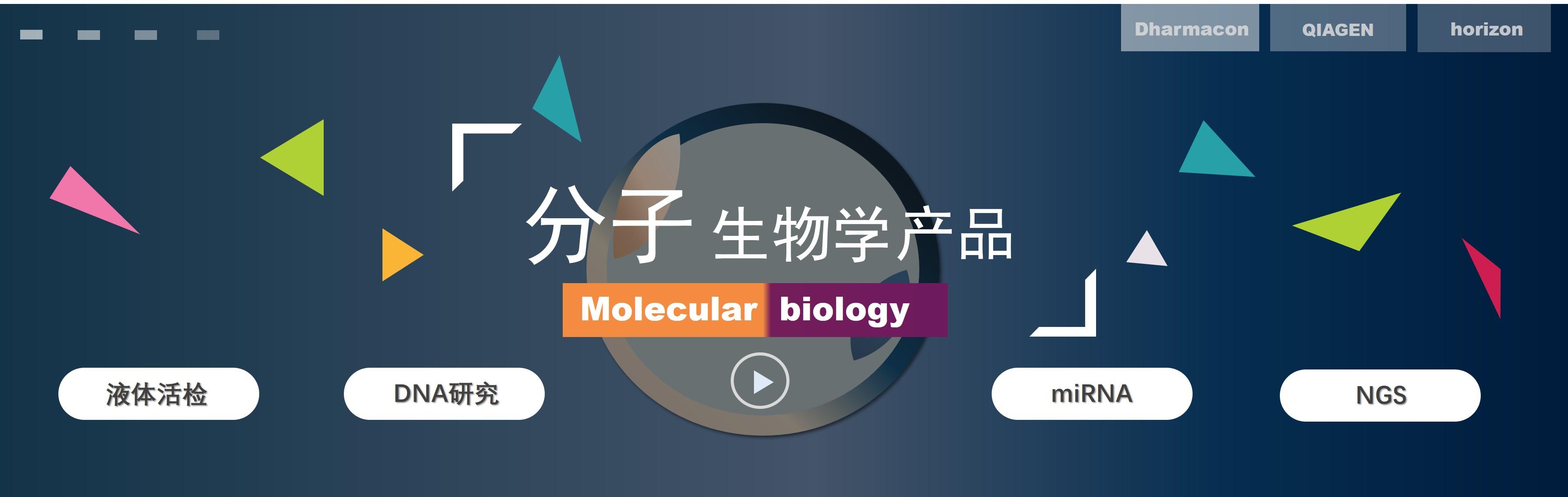 分子生物学首页banner